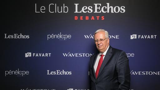 Jacques Aschenbroich au Club Les Echos Débats le 29 juin 2017.