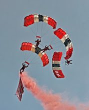 Photo: Red Devils in Formation