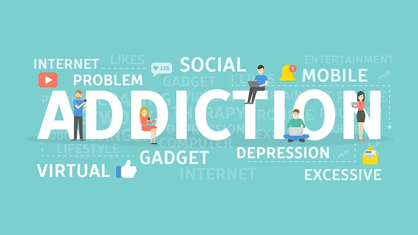 New research has found a connection between social media use and risky decision-making often seen in those with substance addictions.