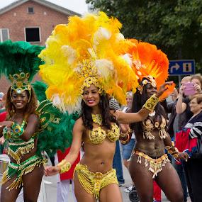 Happy  Carnival... by Edit Peterffy - People Street & Candids ( happy people.. happy street carnival..,  )