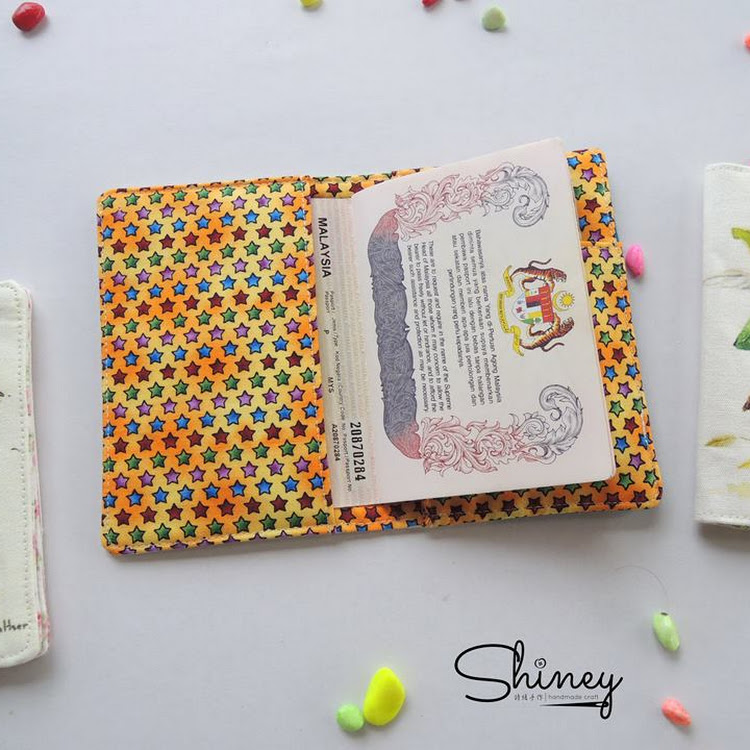 Handmade Passport Cover