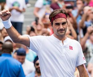 Roger Federer blijft ongeslagen en heeft eerste prijs al te pakken