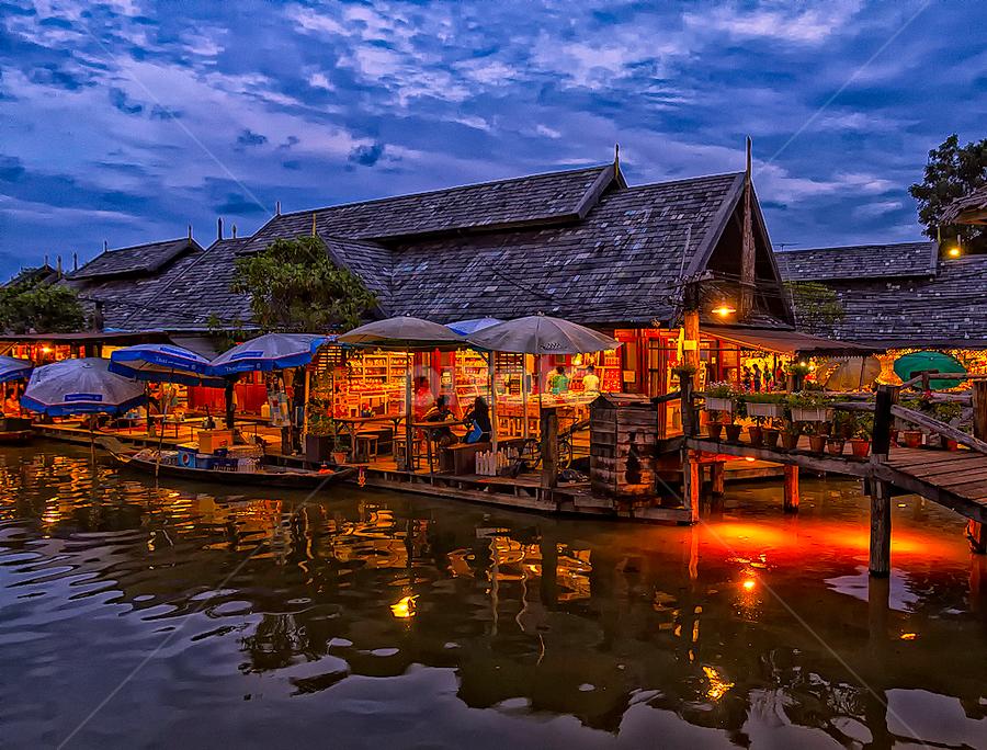 Pattaya Floating Market by Mark Anthony Bansag - City,  Street & Park  Markets & Shops ( moods, lighting, mood lighting, colorful, mood factory, vibrant, happiness, January, emotions, inspiration,  )