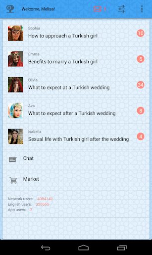 Dating with Turkish girls