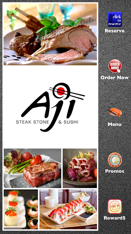 Aji Steak Stone & Sushi- screenshot