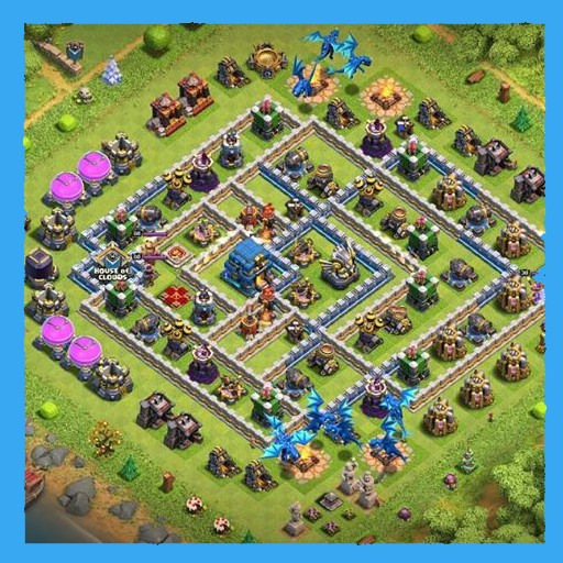 Best Th10 Trophy Base 2020 layout for clash of clans   Apps on Google Play