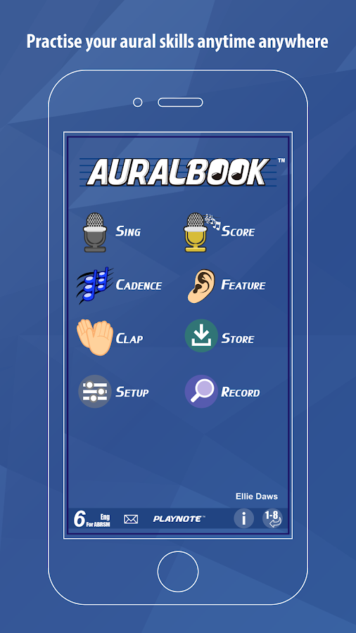 AURALBOOK for ABRSM Grade 6 HD- screenshot