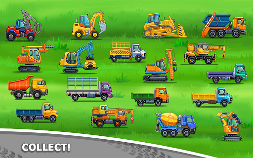 Truck games for kids - build a house, car wash 1.0.16 screenshots 12