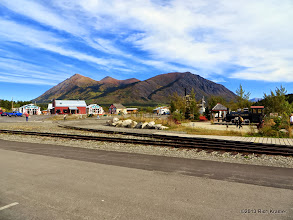 Photo: Carcross, Yukon Territory is down the road from Caribou Crossing and is a concatonation of the same.