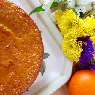 Sicilian Orange Cake.