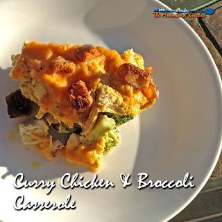 Curry Chicken & Broccoli Casserole