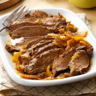 Slow-Cooked Tex-Mex Flank Steak.