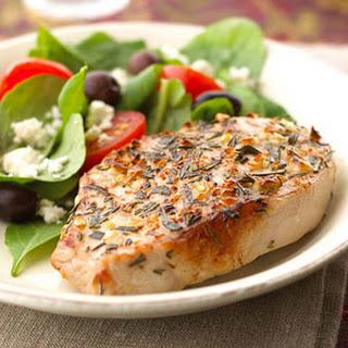 Mediterranean Pork Chops.