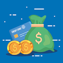 Rewards for cash icon
