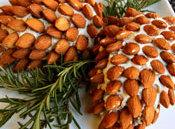 Holiday Pine Cone Cheeseball Recipe