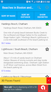 Beaches in Boston and Cape Cod - náhled