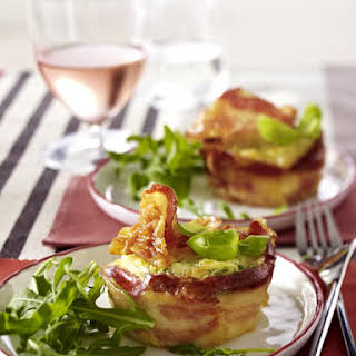 Egg and Cheese Pancetta Nests.