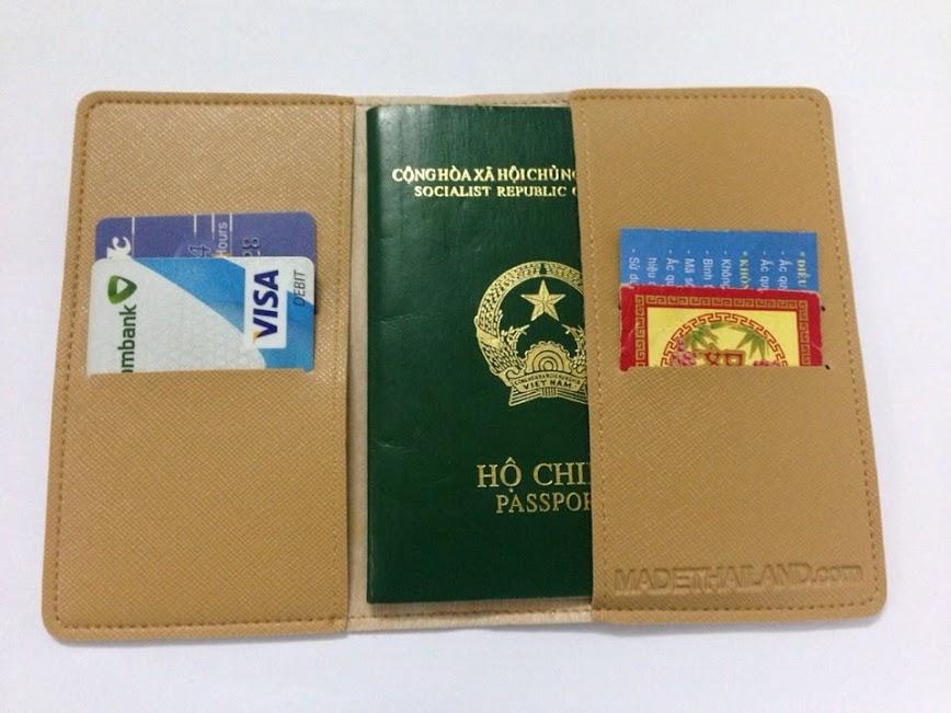 Vỏ bảo vệ Hộ Chiếu ( Passport cover, Passport Holder ) cực độc - 2