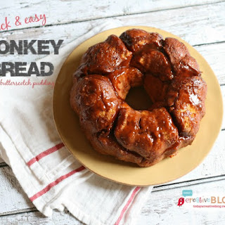 Monkey Bread Recipe with Butterscotch Pudding
