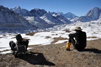 Photo: トレッキング13日目。カラパタールを登る