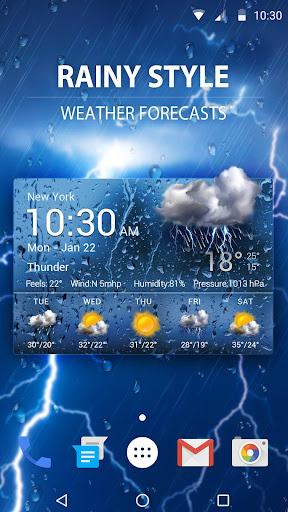 New 2019 Weather App & Widget 15.1.0.45940 screenshots 2