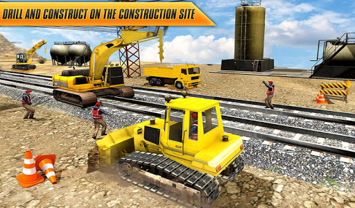Train Track, Tunnel Railway Construction Game 2018 1.1 screenshots 8