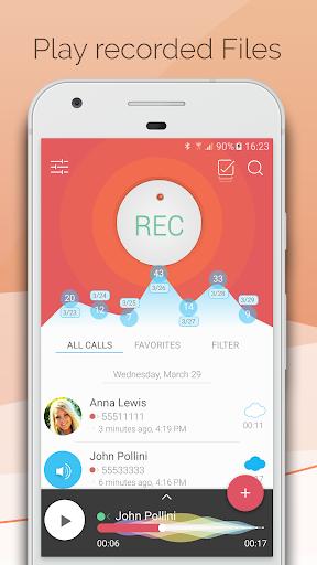 Automatic Call Recorder - CallsBOX 2.7 screenshots 2