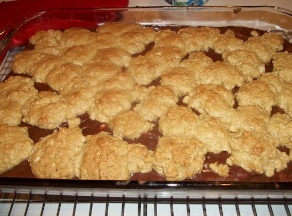 Bake for 20 minutes, or until topping begins to brown. I baked mine 25...