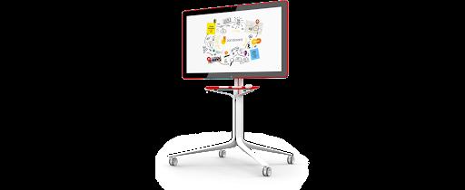 Jamboard Digital Whiteboard on Rolling Stand