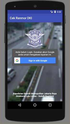 Cek Ranmor & Pajak DKI Jakarta  screenshots 1