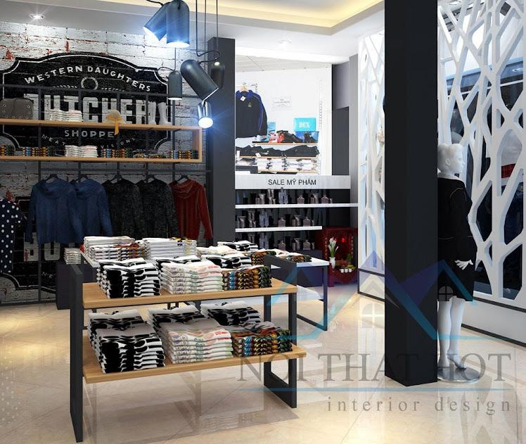 thiết kế shop thời trang uy tin chất lượng cao