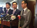 公民黨、議會陣線、鄭松泰反對DQ許智峯