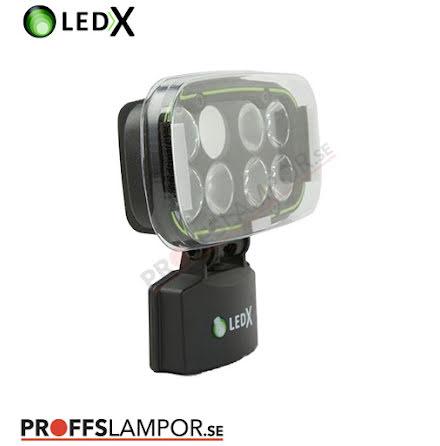 Tillbehör skyddsglas LEDX