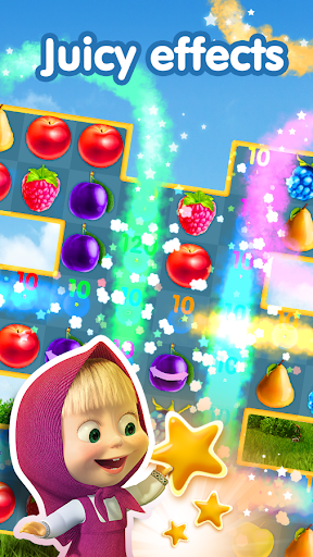 Masha and The Bear Jam Day Match 3 games for kids 1.4.47 screenshots 1