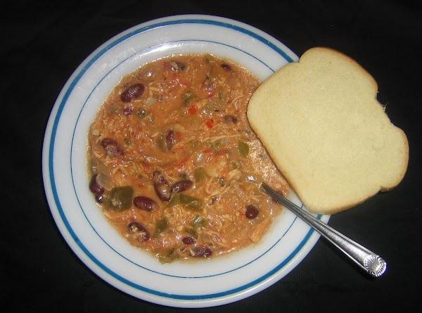 Cheesy Chicken Chili Recipe