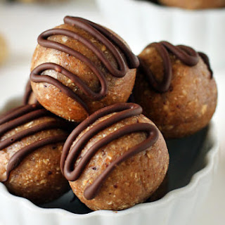Gluten Free Peanut Butter Fudge Balls