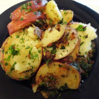 Parsley Buttered Potatoes Microwave Recipes