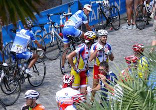 Photo: Deelnemers aan de wielerrit Straducale (http://www.straducale.it/straducale_file/Edizione2010.htm). De finish van deze rit eindigde vlak buiten het Palazzo Ducale.