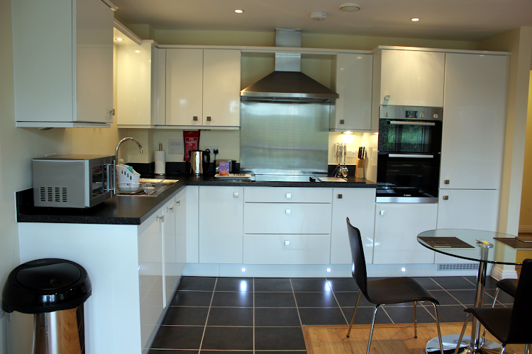 Fully equipped kitchen at Equinox Place