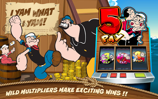 POPEYE Slots u2122 Free Slots Game 1.1.1 screenshots 2