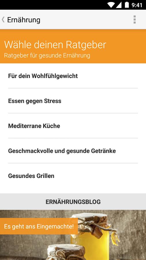 go4health - android apps on google play - Mediterrane Küche Ratgeber