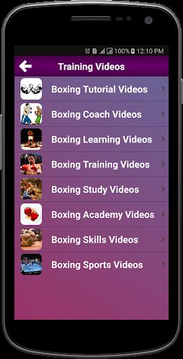 Boxing Training by Mobi Infotech Pvt Ltd (Google Play