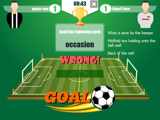 Football Word Cup - The Football Spelling Game 2.0 screenshots 1