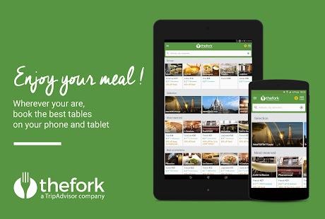 TheFork - Restaurants booking - screenshot thumbnail