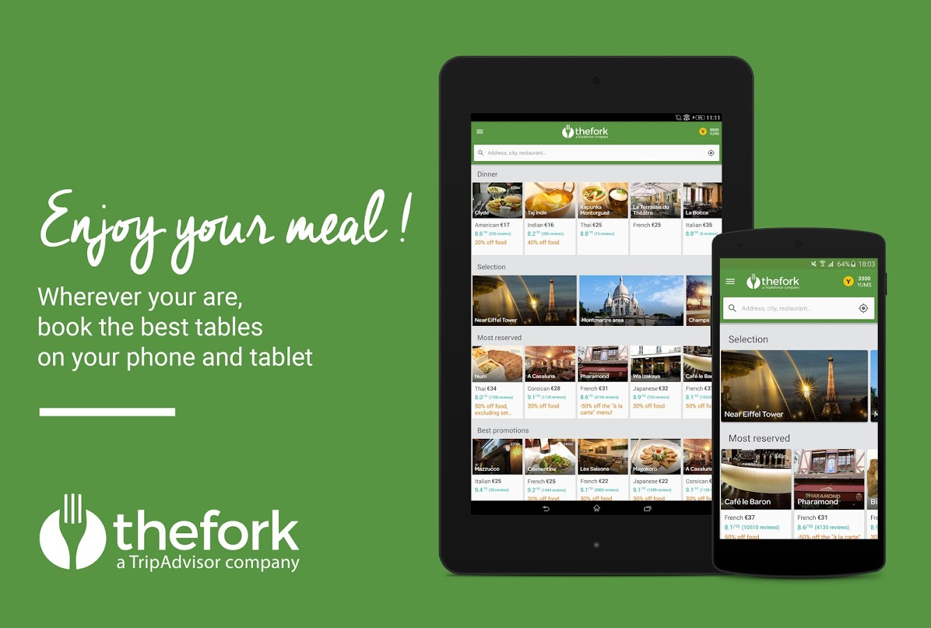 TheFork - Restaurants booking - screenshot