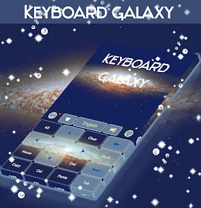 Keyboard Galaxy Theme screenshot 2