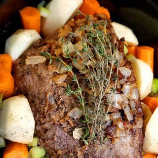 Fancy Yankee Pot Roast – Crock Pot.