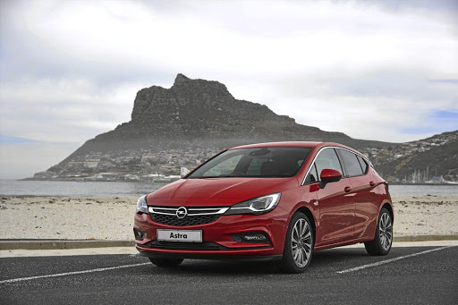 The Opel Astra.   Picture: QUICKPIC
