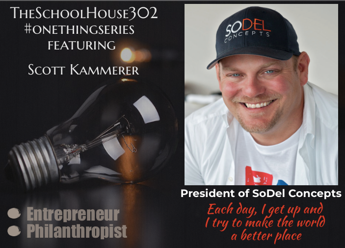 #onethingseries: Organizational Growth w/ Scott Kammerer of @SoDelConcepts