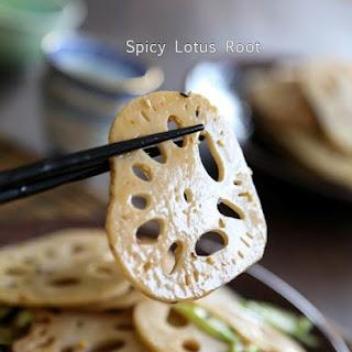 Spicy Lotus Root 香辣炒蓮藕